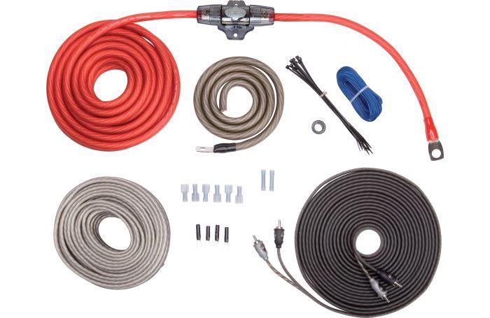 American Bass Ak4 Car Audio 4 Gauge Amplifier Amp Wiring Kit