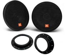 Audio Visual World Jbl Gt7 6 165mm 6 5 135 Watt 2 Way Gt7 Series Coaxial Car Audio Speakers With Patented Plus One Architecture Replacement For Gt6 6