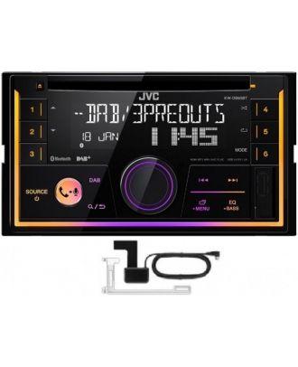 JVC KW-DB92BT Doble Din CD MP3 Player DAB AM FM Estéreo Bluetooth