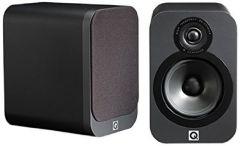 Q Acoustics 3020 Bookshelf Speakers in Matte Graphite