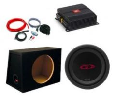 """JBL Stage A6002 Amp and Alpine SWG1044 10"""" 500W Sub package deal"""