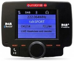 Universal Digital DAB Radio Receiver + Bluetooth AutoDAB Go S