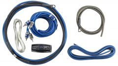 Kicker CK8 46CK8 K-Series 8AWG Amp Kit with 2-Channel Interconnects