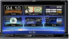 Clarion NX-702E 7 inch Touchscreen Sat Nav DVD, iPod Bluetooth
