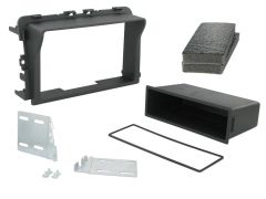 Renault Trafic 2011-2014 Car Stereo Double Din Fascia Panel CT23RT05