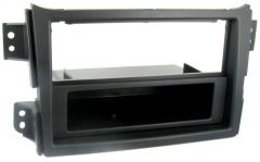 Vauxhall Agila 2008-2015 Double Din with Removable Pocket Din Fascia Panel CT24SZ05