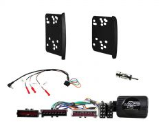 Ford Focus MKI 1998-2004 Double Din Car Stereo Fascia Fitting Kit CTKFD80