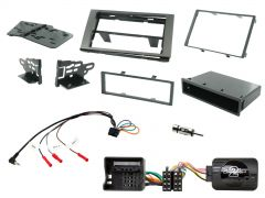Ford C,S-Max, Fiesta, Fusion, Galaxy, Kuga, Transit, Transit-Connect Double Din Car Stereo Fascia Fitting Kit CTKFD89