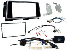 Nissan Micra  2020 onwards Double Din Stereo Fascia, Steering Control Fitting Kit CTKNS13