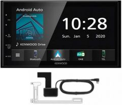 """Kenwood DMX-5020DABS 6.8""""  Double DIN Short body Navigation with Apple CarPlay Android Auto + Aerial"""