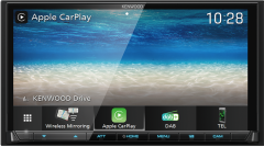"""Kenwood DMX8020DABS 7""""  Double DIN Navi Wi-Fi with Apple CarPlay Android Auto"""