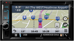 Kenwood DNX5170BTS Double Din Navigation USB/DVD-Receiver with built-in Bluetooth