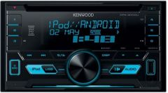 Kenwood DPX-3000U Android IPod IPhone Player, USB & AUX Stereo Variable