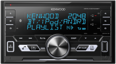 Kenwood DPX-M3100BT Double Din CD/USB/Aux iPhone Variable Illumination Android Bluetooth