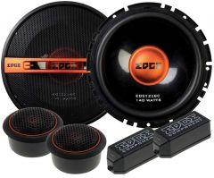 EDGE EDST216C-E6 - 16.5cm 280 Watt  2-way Component Car Speakers