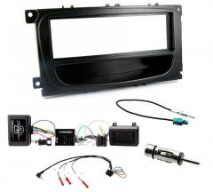 Ford S-Max Single Din Car Stereo Fascia Stalk Antenna Kit