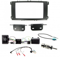 Ford S-Max 2011 onwards Double Din Car Stereo Fascia Stalk Antenna Kit