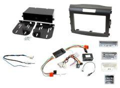 Honda CR-V 4th Gen 2012 - 2017 Non Nav with Amplifier / Single or Double Din Fitting Kit