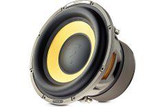 """Focal E25KX K2 Power Series 10"""" 1200w dual 4-ohm voice coil component subwoofer"""