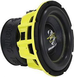 "Ground Zero Hydrogen GZHW 25XSPL-D1 - 10"" 25cm 2500 Watt Dual Voice Coil Subwoofer Bass Driver"