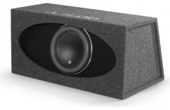 "JL Audio HO112R-W7AE Ported H.O. Wedge™ enclosure with one 12"" W7AE subwoofer"