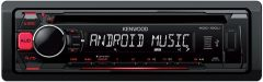 Kenwood KDC-100UR CD / MP3  / WMA USB / Auxillary Input ANDROID MUSIC CONTROL