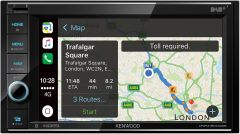 "Kenwood DNR4190DABS 6.2"" USB SD DVD Receiver, Navigation, Bluetooth Apple CarPlay"