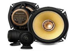 "Kenwood KFC-XS1704 - 6.5"" 2-Way 180W Hi-Res Audio Certified Component Speakers"