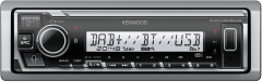 KENWOOD KMR-M506DAB Marine ALEXA DAB Bluetooth/Direct IPOD/IPHONE/ANDROID Control. FLAK.memory USB