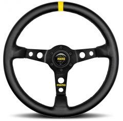 Momo MOD.07 Black leather Spoke 300mm Steering Wheel