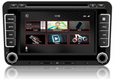 VW Polo MK5 Fits (2008-2014) Navigation,Radio FM/AM, DVD, CD,USB, Bluetooth, Mirror link headunit Dynavin N7-VCF – Pro
