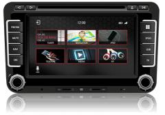 VW Sharan II fits (2010 Onwards) Navigation,Radio FM/AM, DVD, CD,USB, Bluetooth, Mirror link headunit Dynavin N7-VW