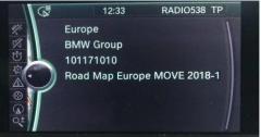 BMW Next II 2019 Navigation Map Update Package