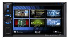 Clarion NX-504E 6.2 inch Touchscreen Sat Nav. DVD, iPod control, Bluetooth
