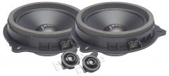 """PowerBass OE65C-FD Ford 6.5"""" Upgraded OEM Replacement Component Speakers"""