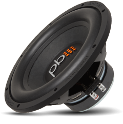 """Powerbass S-1204 S-Series 12"""" 4 Ohm Subwoofer 600 Watts Max Power"""