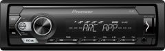 Pioneer MVH-S120UBW Mechless Car Stereo RDS tuner with USB and AUX in White Illumination