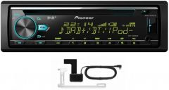Pioneer DEH-X7800DAB CD MP3 Tuner DAB Bluetooth USB iPhone & Android Inc DAB-A1 Antenna
