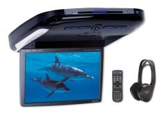 Alpine PKG-2100P - 10.2 inch Roof Mount screen with Built-in CD DVD Player