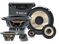 """Focal PS165F3E 6.5"""" Flax Cone Component 3-way Expert Series Speakers"""