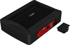VIBE PULSEC8-V8 Car Underseat Compact Slim Active Amplified 6×8 inch Subwoofer Sub Bass Box Enclosure
