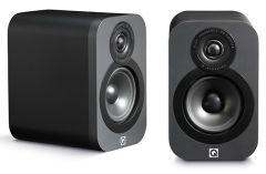 Q Acoustics 3010 Bookshelf Speakers Matte Graphite