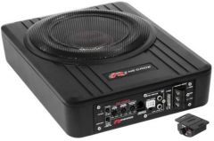 """Renegade RS800A  8"""" Inch 20cm Active Underseat bass Enclosure Subwoofer"""