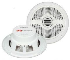 Renegade RXM62 6-1/2 inch 2-way Flush Mount Marine Speakers White