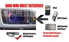 PorschePCM 2.0 and PCM2.1 Fiber Optic Aux In Interface Adaptor SKU2478