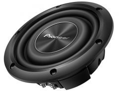 """Pioneer TS-A2000LD2 Dual 2-Ohm A-Series 8"""" Shallow-Mount 700W Subwoofer"""