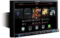 "Alpine X803DU-C 8"" Touch Screen Navigation with TomTom maps, Apple Carplay & Android Auto"